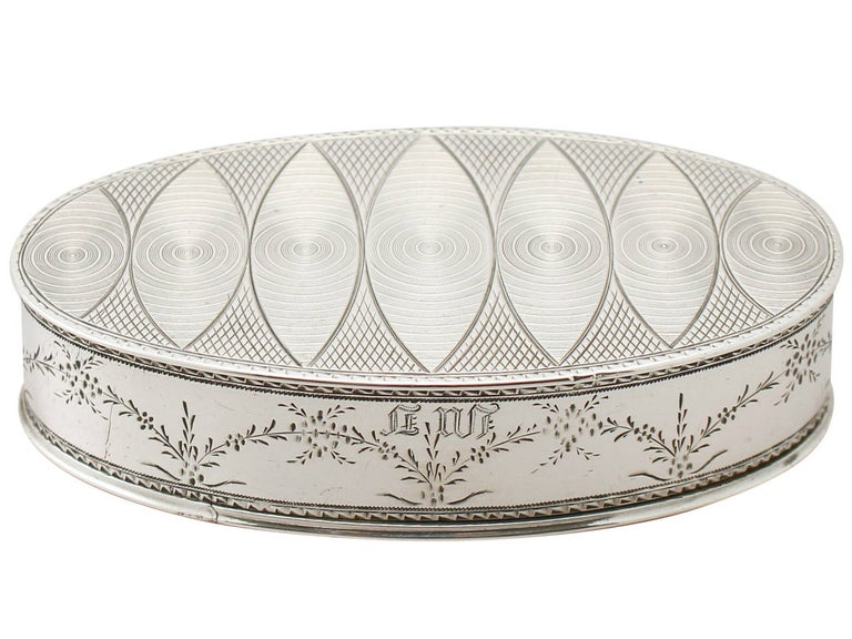 Antique Austrian Silver Table Snuff Box In Excellent Condition For Sale In Jesmond, Newcastle Upon Tyne