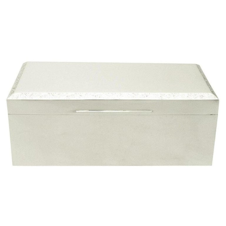1970 Sterling Silver Jewelry Box