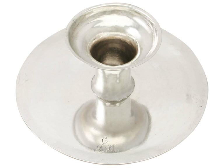 Scottish Sterling Silver Tazza/Centerpiece - Antique George I For Sale 4