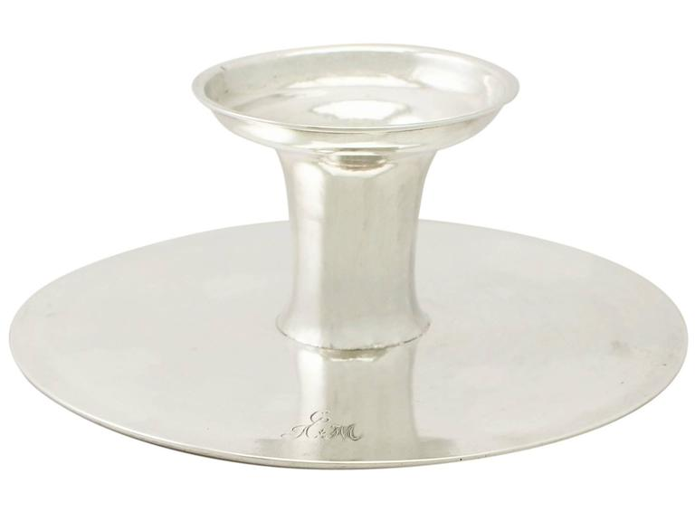Scottish Sterling Silver Tazza/Centerpiece - Antique George I For Sale 5