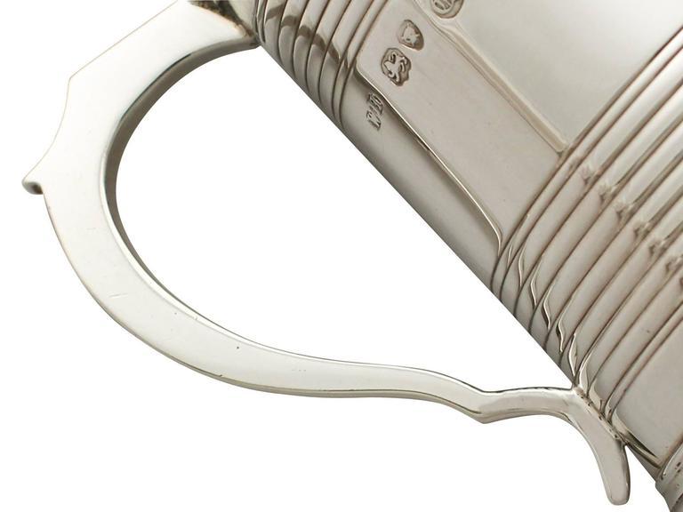 Sterling Silver Christening Mug, Antique Victorian For Sale 1