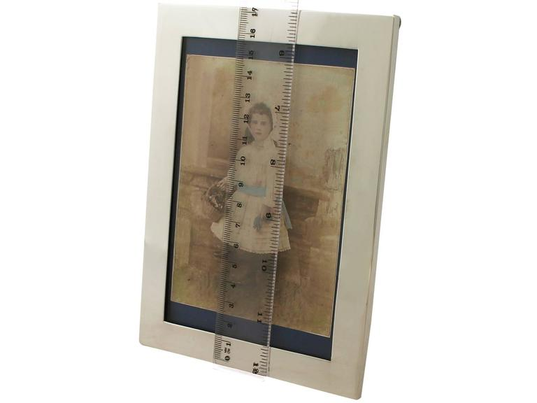 Sterling Silver Photograph Frame For Sale 4