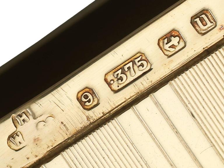 Antique Yellow Gold Vesta Case For Sale 2