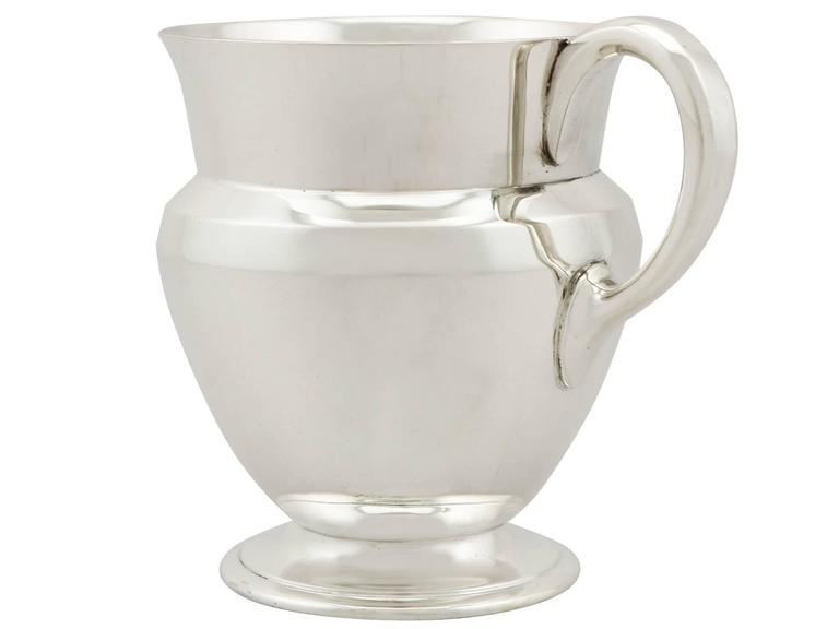 British Antique Sterling Silver Christening Mug For Sale