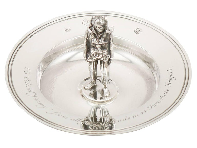 Great Britain (UK) 1965 Sterling Silver Presentation Bowl For Sale