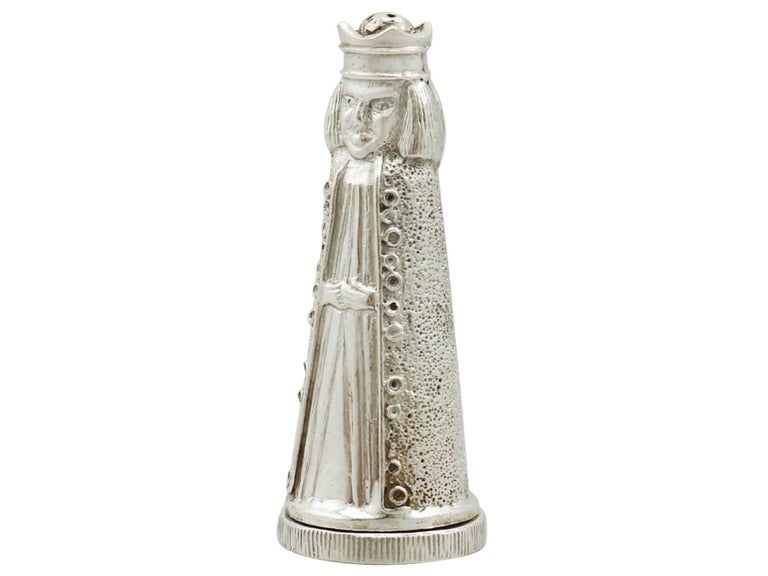 1969 Sterling Silver Novelty Salt And Pepper Shakers For