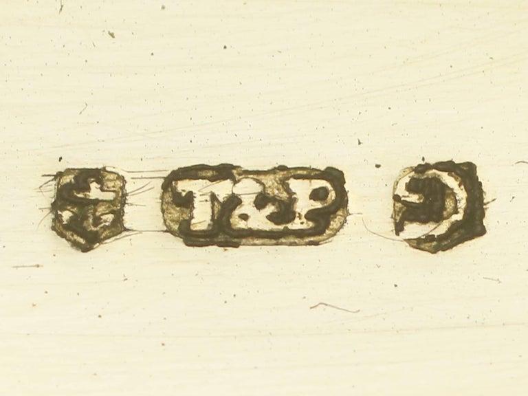 1830s Sterling Silver Gilt Vinaigrette For Sale 5