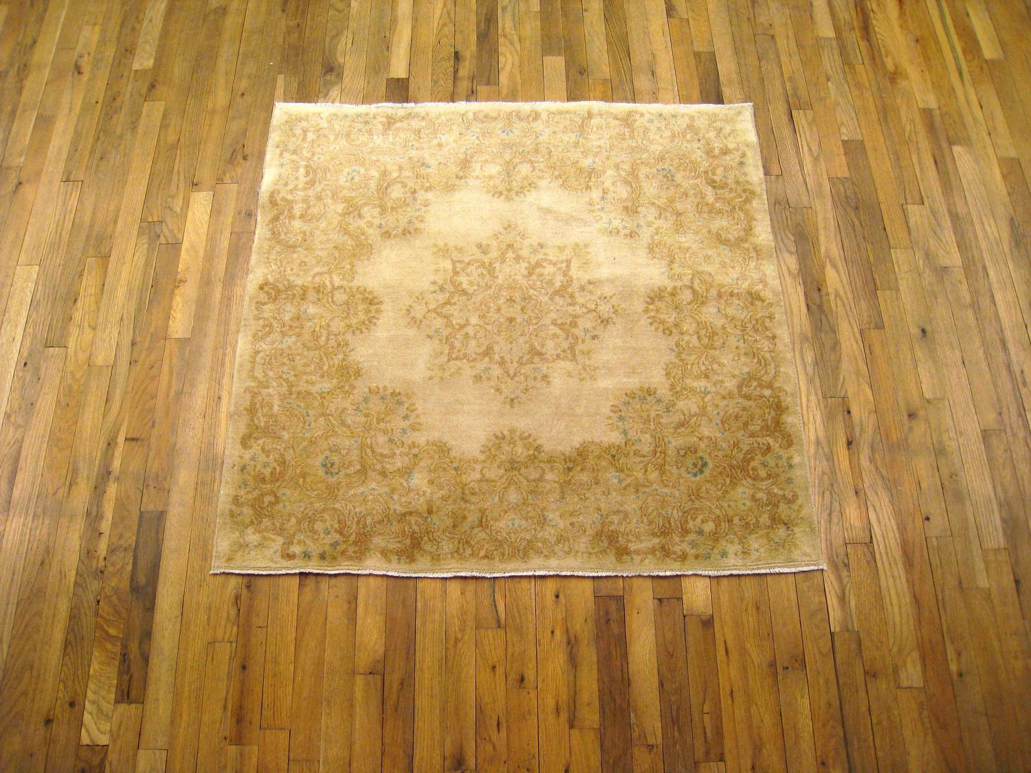 small square rug