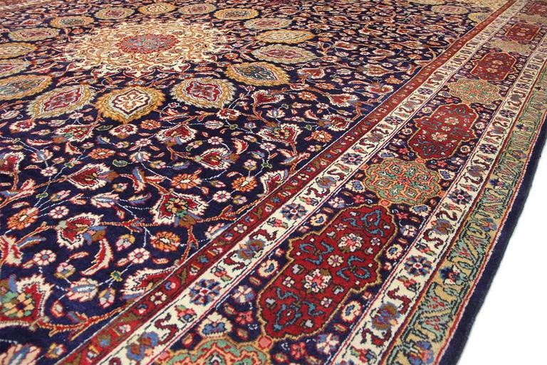 Traditional Sheikh Safi Persian Tabriz Rug For Sale At 1stdibs