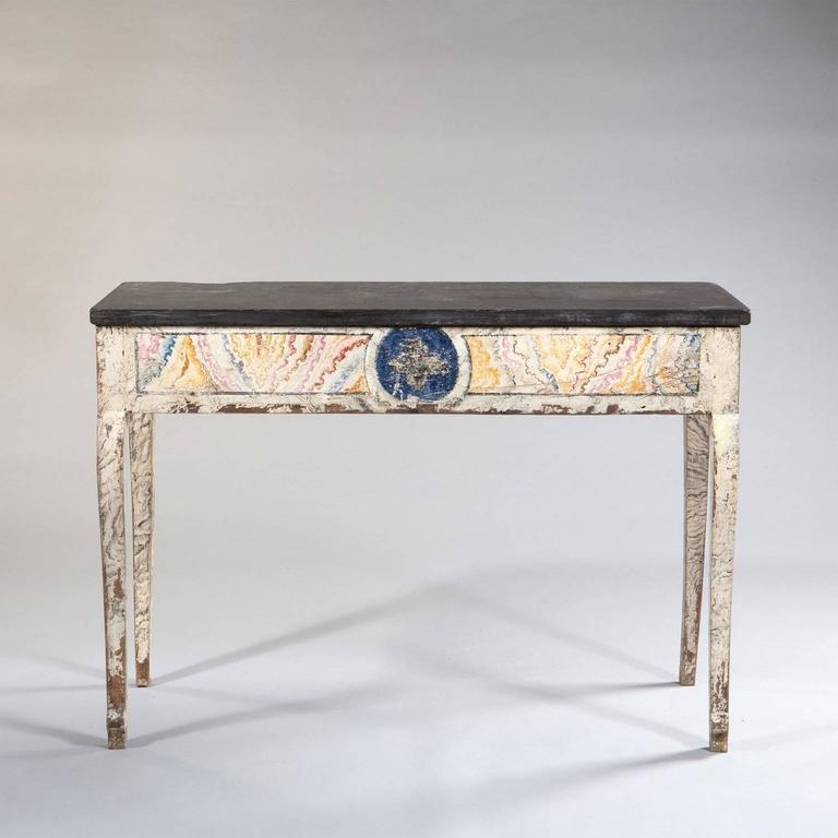 French provincial empire console table for sale at 1stdibs for 10 inch depth console table