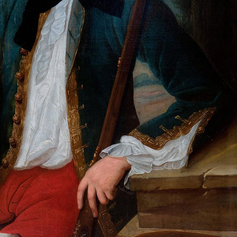 Portrait of a Gentleman, Oil on Canvas 3