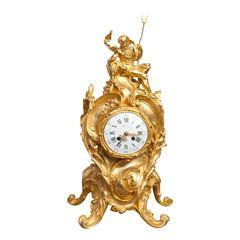Tiffany & Co. Fine Ormolu Mantel Clock