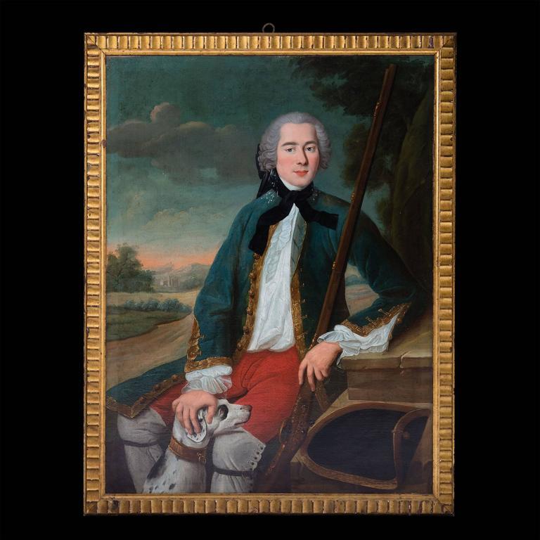 Portrait of a Gentleman, Oil on Canvas 8