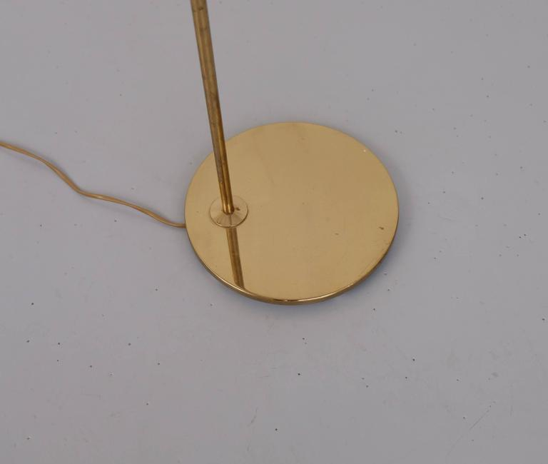 Brass Floor Lamp G-075 by Bergboms, 1960s For Sale 1