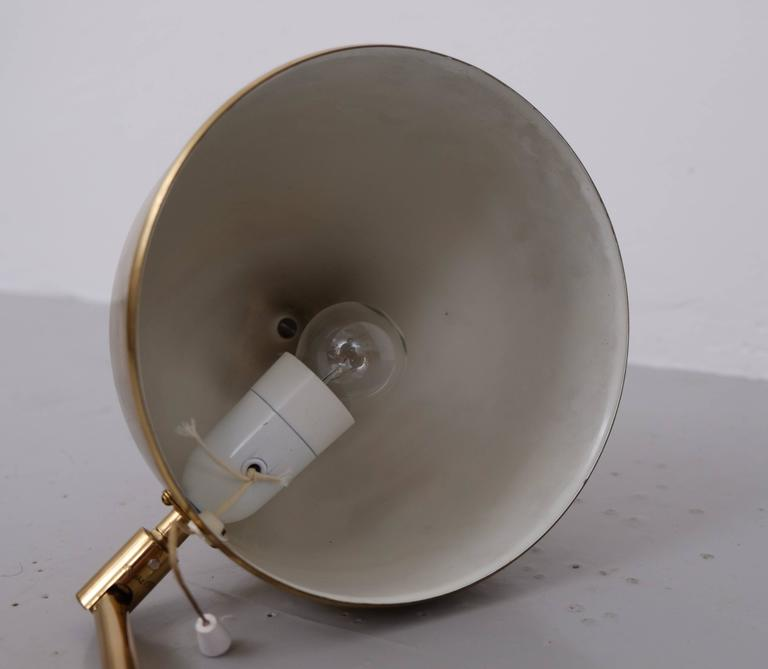 Brass Floor Lamp G-075 by Bergboms, 1960s For Sale 2