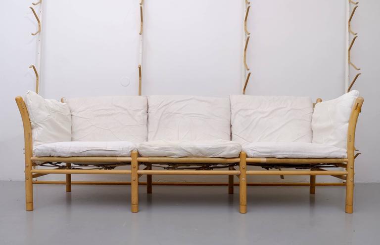 Arne Norell ThreeSeat Sofa Model Ilona 1960s at 1stdibs
