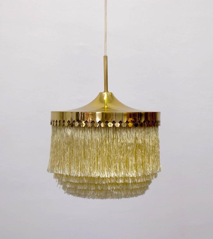 Scandinavian Modern Hans-Agne Jakobsson Ceiling Lamp Model T601/M, 1960s For Sale
