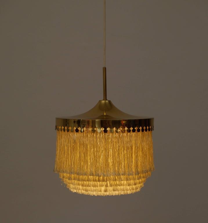 Brass Hans-Agne Jakobsson Ceiling Lamp Model T601/M, 1960s For Sale