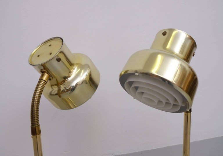 Pair of Brass Table Lamps