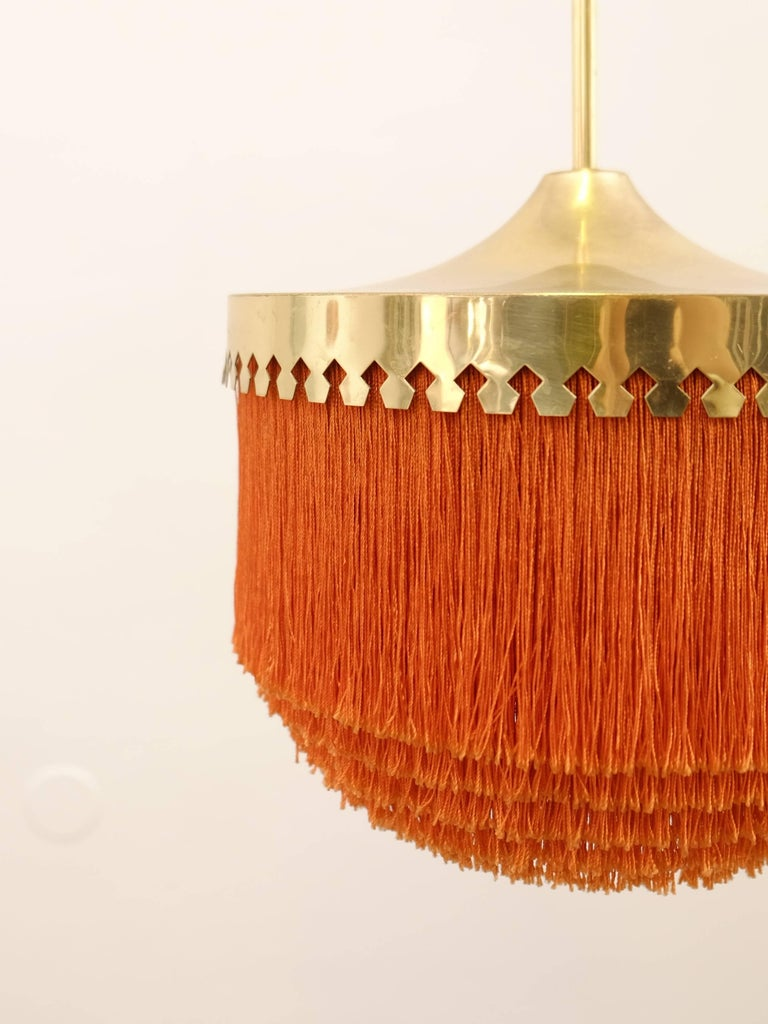 Mid-20th Century Hans-Agne Jakobsson Ceiling Lamp Model T601/M, 1960s For Sale