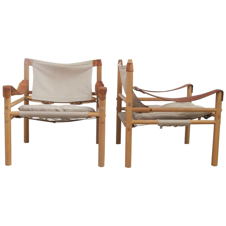Arne Norell Sirocco Easy Chairs