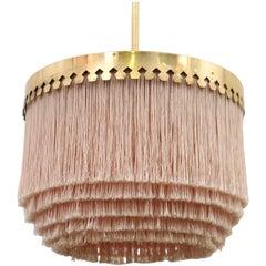 Pink Hans-Agne Jakobsson Ceiling Lamp Model T601/M, 1960s