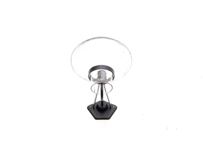 Rare outdoor wall lamp designed by Gunnar Asplund for ASEA, 1930s.  Produced by ASEA in Sweden.