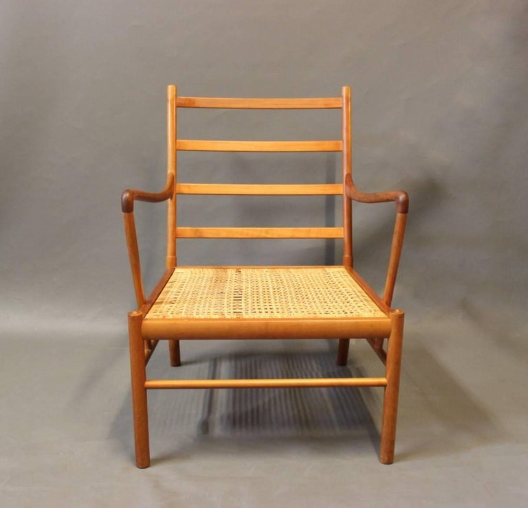 Colonial chair model pj149 by ole wanscher and p for P jeppesen furniture