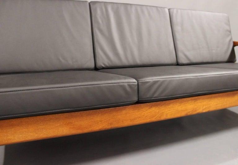 Three-Seat Sofa in Teak by Juul Kristensen and Glostrup Furniture, 1960s 6