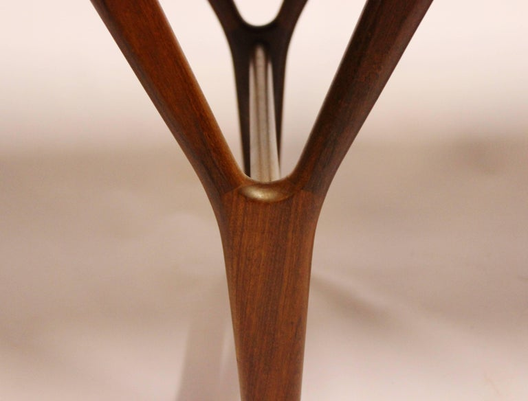 Coffee Table in Teak of Danish Design from the 1960s For Sale 1