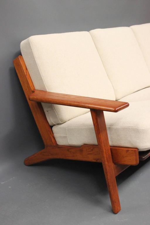 20th Century Hans J. Wegner GE290 Sofa in Teak from 1960 For Sale
