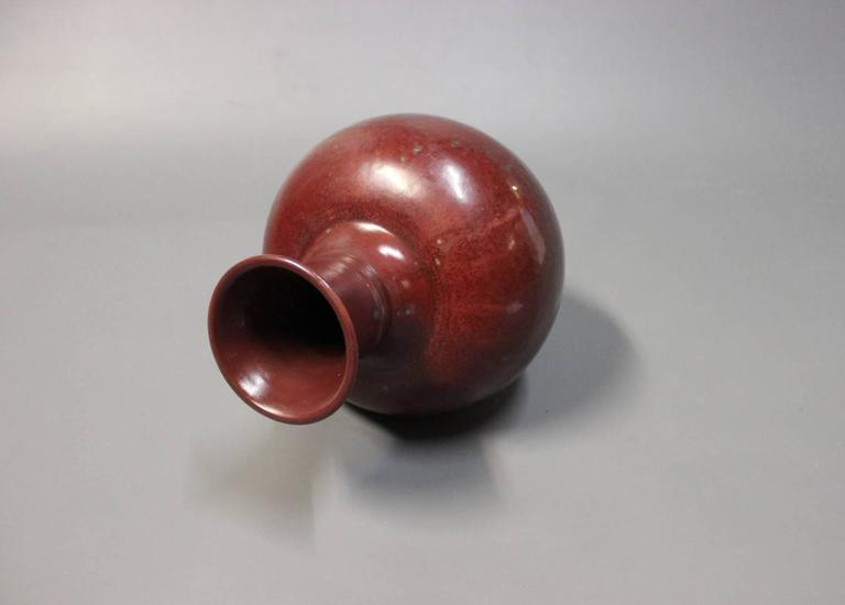 Glazed Vase in Stoneware Royal Copenhagen by Carl Halier, 1937
