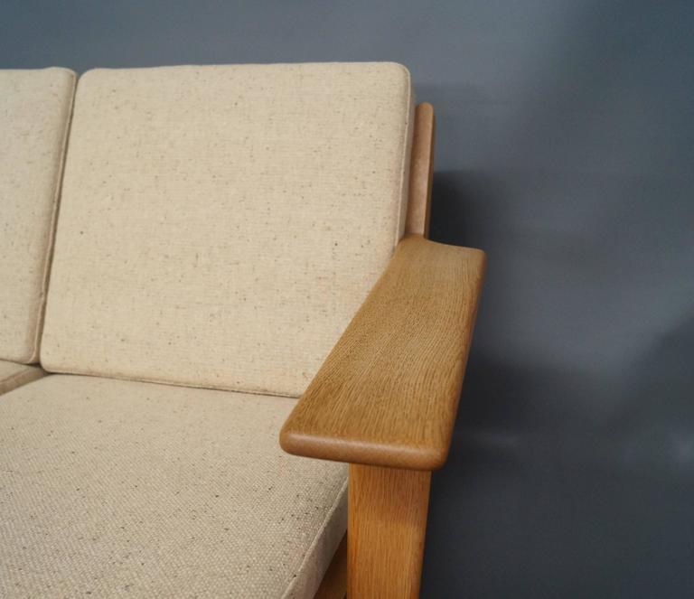 GE 290 Three Persons Sofa Designed by Hans J. Wegner 5