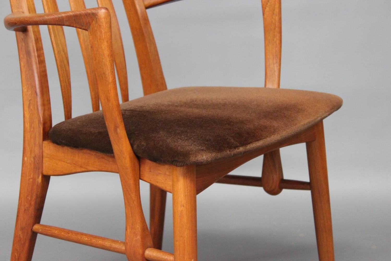 armchairs for dining room set of 12 macassar enrique e garce