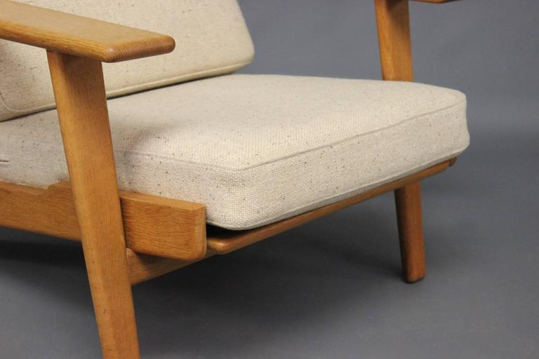 Armchair, Model GE290A, by Hans J. Wegner and GETAMA, 1960s In Good Condition For Sale In Lejre, DK