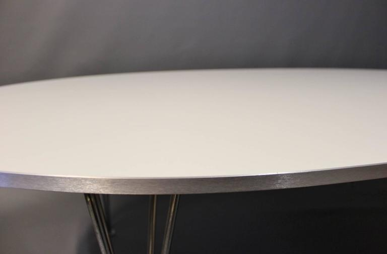 Superellipse Piet Hein Coffee Table Manufactured By Fritz