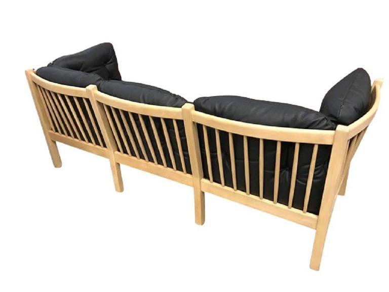 Danish Three-Seat Sofa, Model 303, Designed by Andreas Hansen, 1979 For Sale