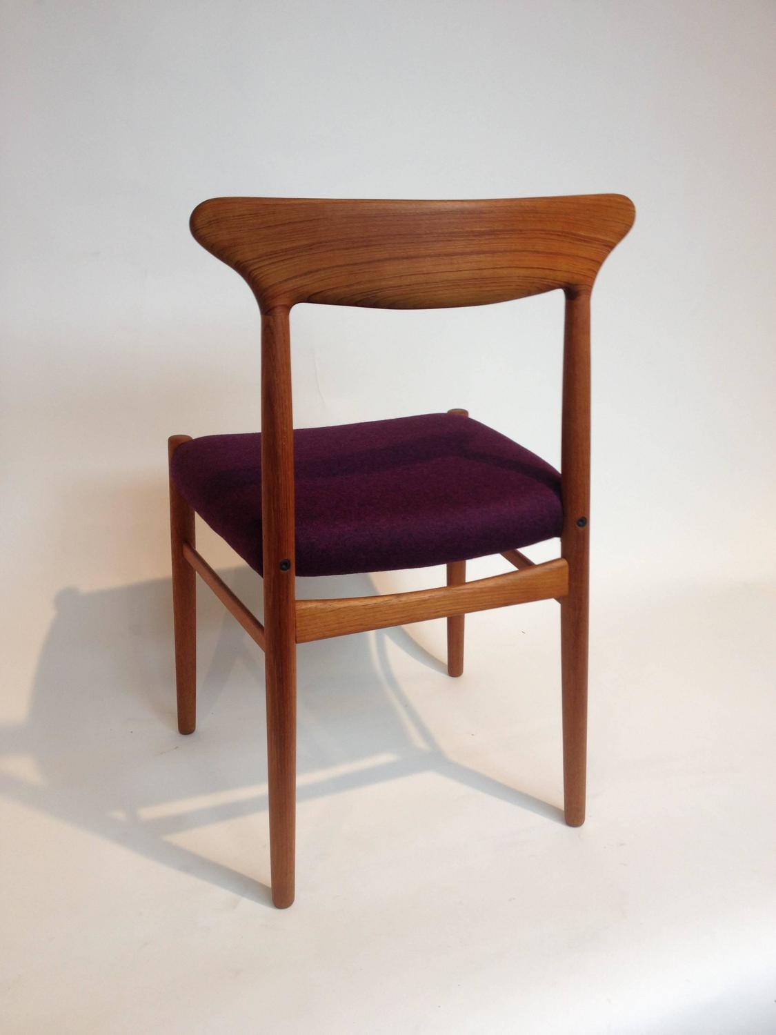 Mid Century Modern Teak Dining Or Occasional Chair By