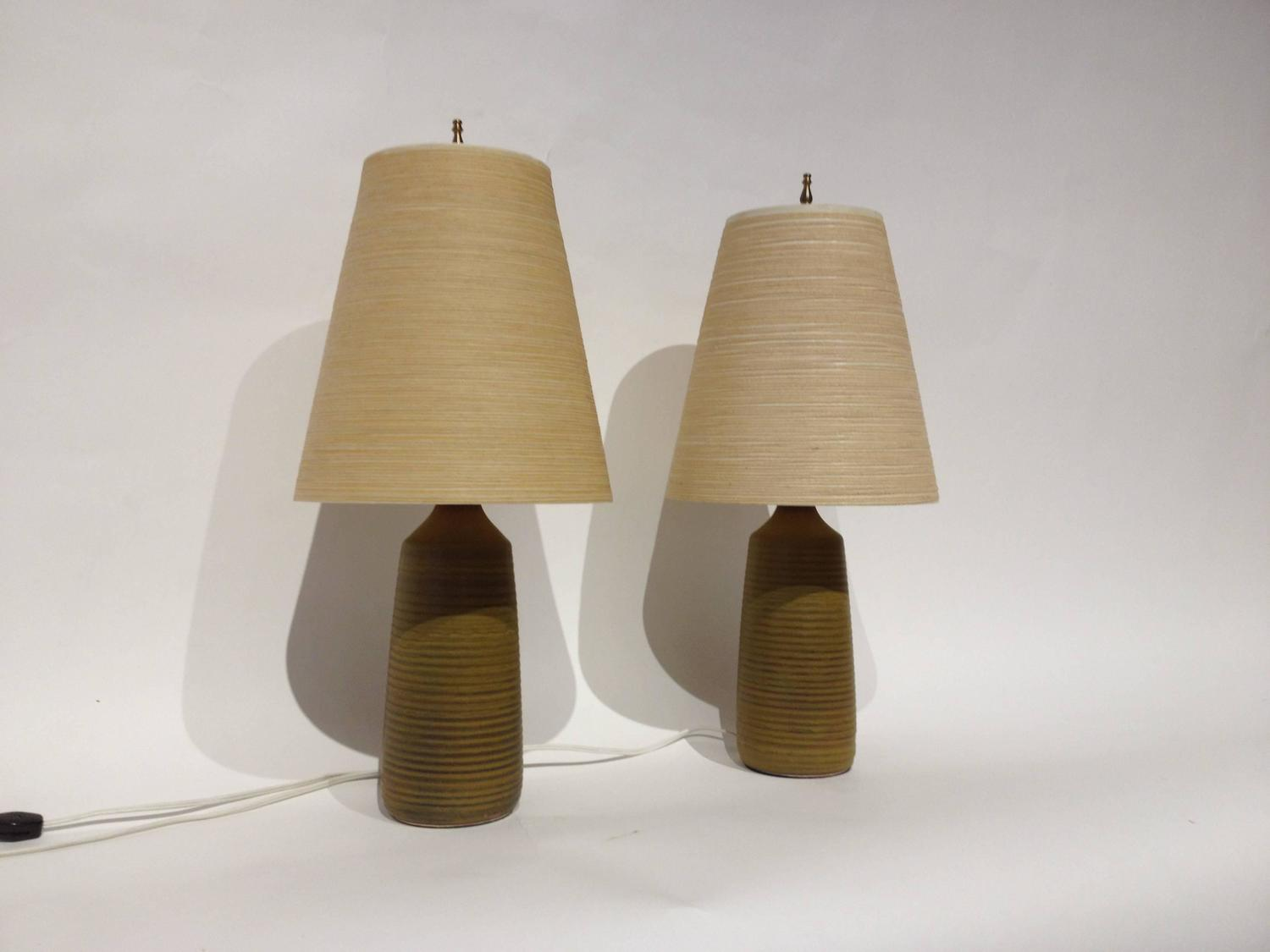 incredible pair of mid century modern lotte and gunnar bostlund