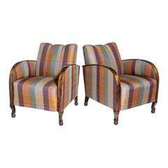 Pair of Superb Art Deco Armchairs