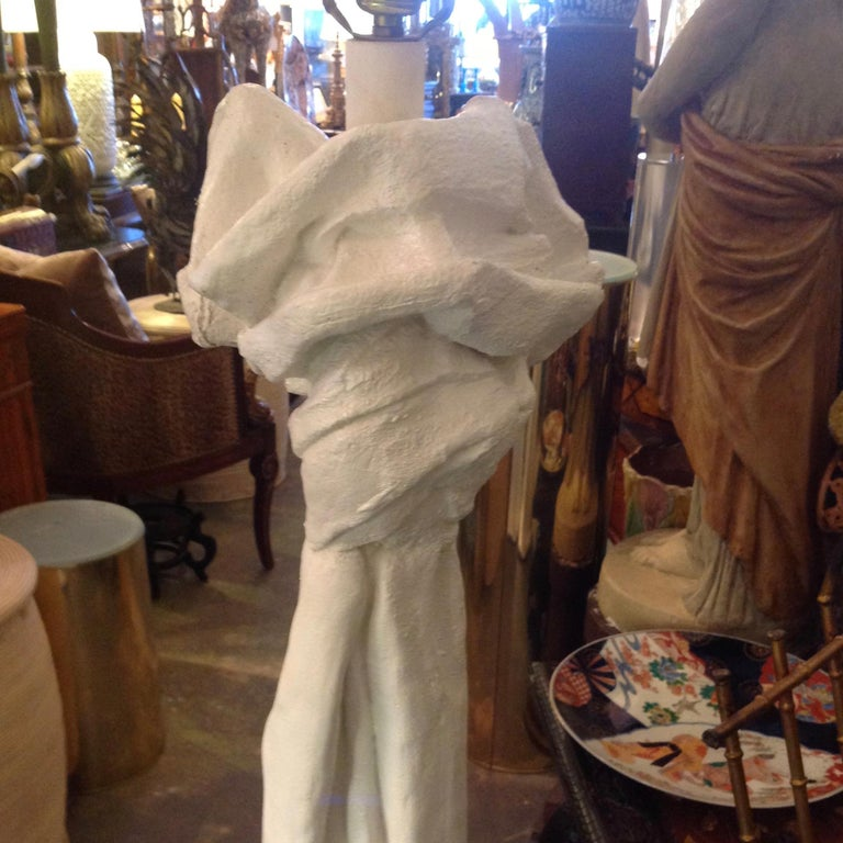 Painted Pair of John Dickinson Style Floor Lamps For Sale