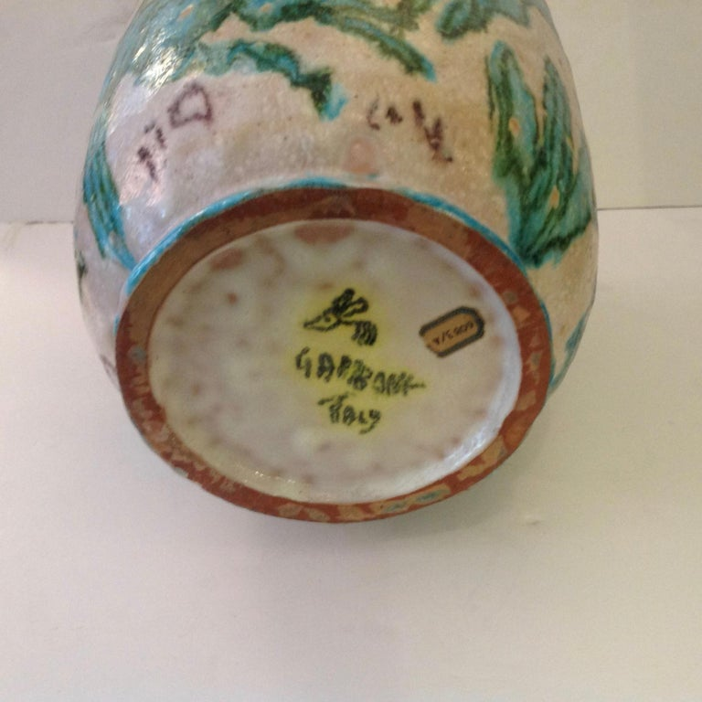 Guido Gambone Art Pottery Vase For Sale 2