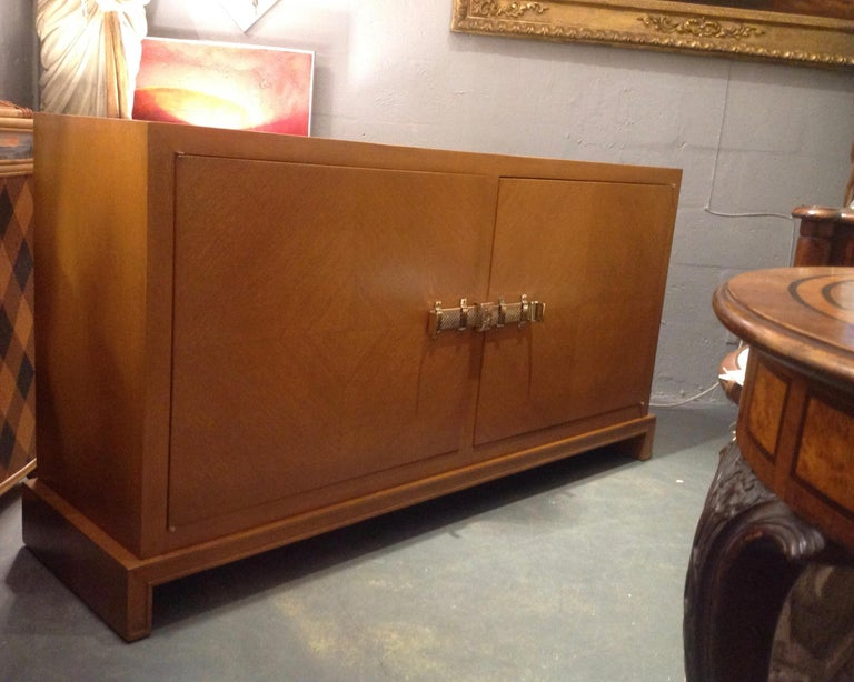 Rare Tommi Parzinger Credenza In Good Condition For Sale In West Palm Beach, FL
