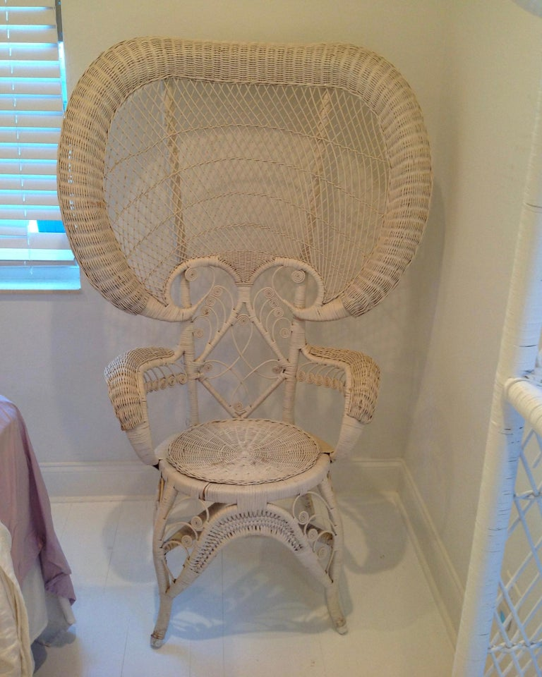 Mid-20th Century Whimsical Wicker