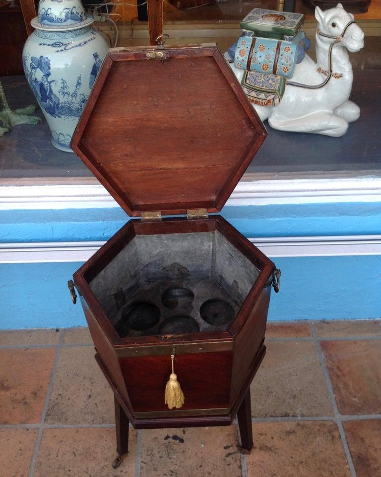 English Georgian Period Cellarette For Sale