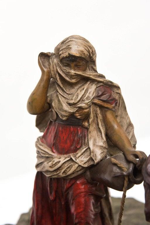 Bergman Orientalist Bronze In Good Condition For Sale In West Palm Beach, FL