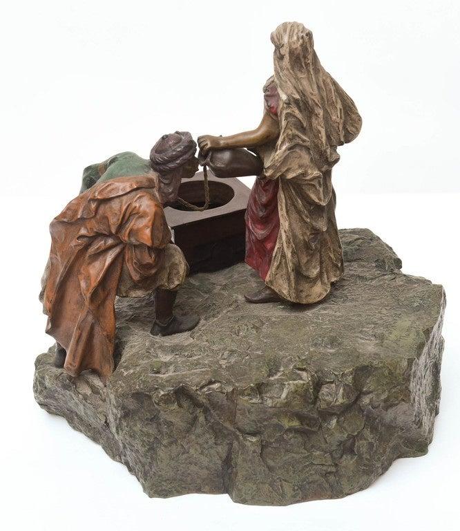 Bergman Orientalist Bronze For Sale 1