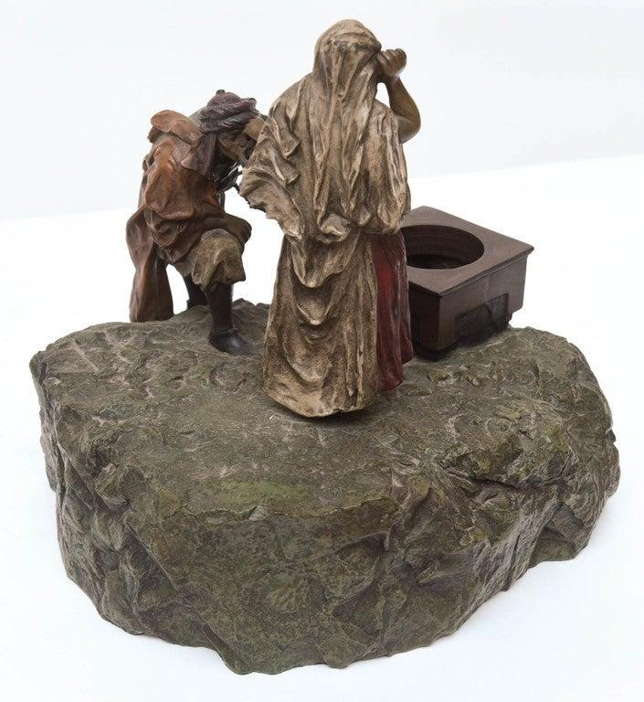 Bergman Orientalist Bronze For Sale 4
