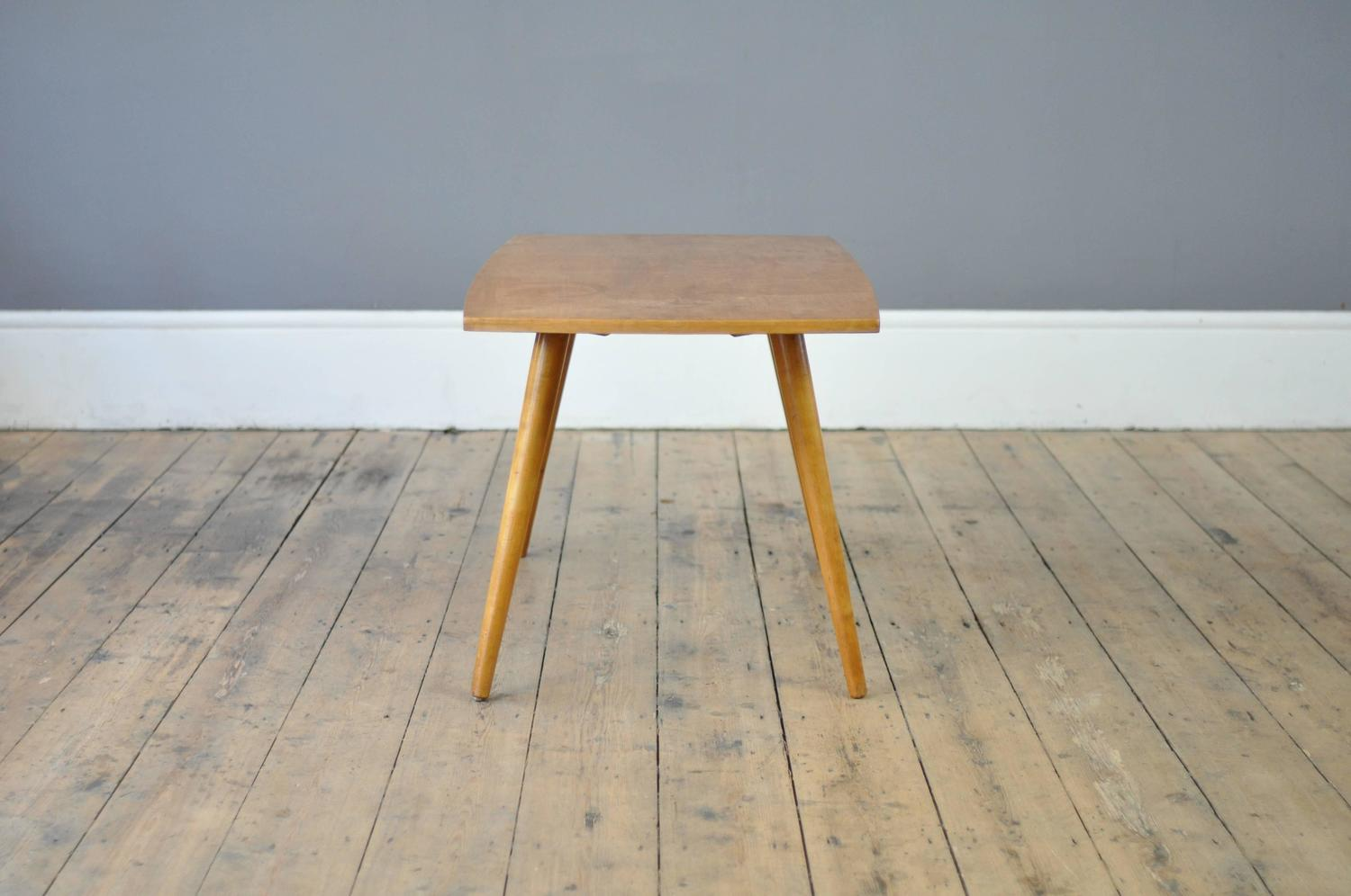 Mid Century Beech Coffee Table For Sale At 1stdibs