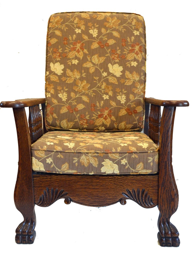 Morris chair recliner for sale at 1stdibs Morris home furniture hours